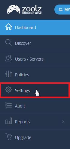 Settings - Intelli