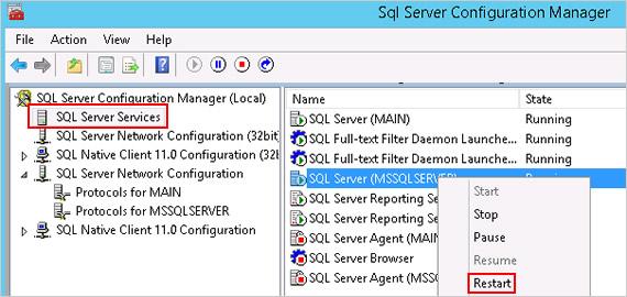 sql server machine
